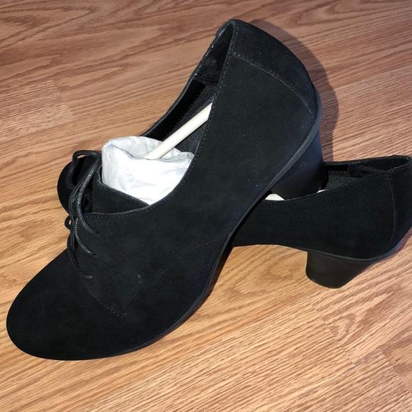 Bionic heel qvc tie mule shoes orthotics Boutique